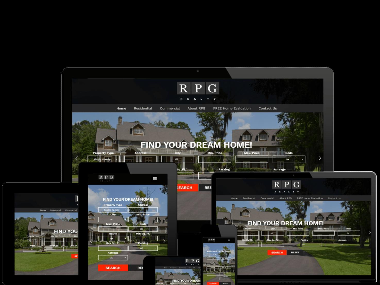Real Estate Web Design Montgomery AL